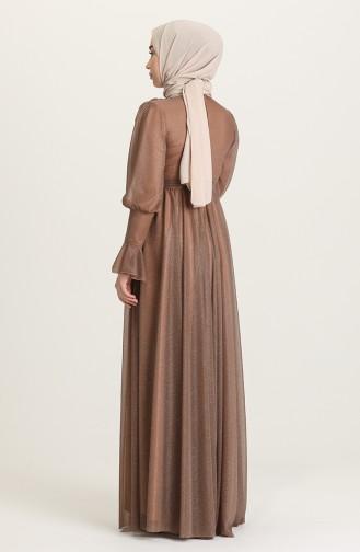 Nerz Hijab-Abendkleider 5367-06