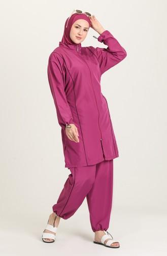 Damson Swimsuit Hijab 212050-03