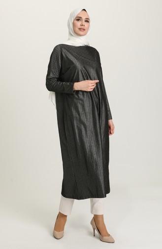 Yarasa Kol Mevsimlik Tunik 8306-01 Siyah