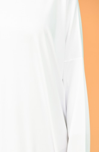 Sefamerve Praktische Taschen Gebetsrock 0900-08 Weiß 0900-08
