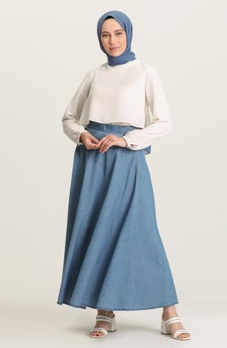 Jupe Bleu Jean 1020216ETK-02