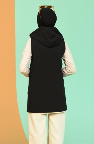 Gilet Sans Manches Noir 1124-02