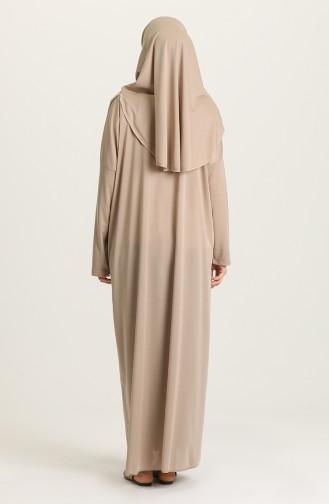 SefamervePractical Prayer Dress With Bag 0900-06 Mink 0900-06