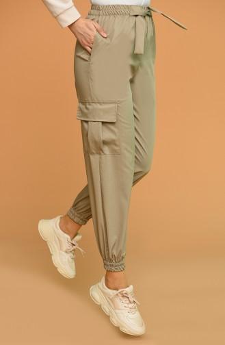 Pantalon Beige Foncé 0403-05