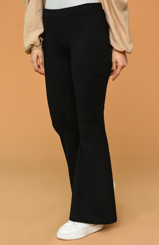 Pantalon Noir 6401-01
