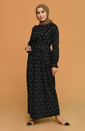 Robe Hijab Noir 21Y8338-01