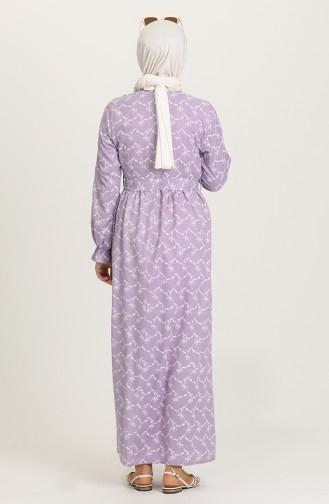 Violet Hijab Dress 21Y8338-03