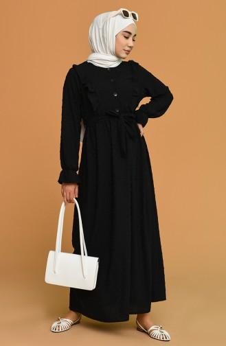 Robe Hijab Noir 21Y8371-03