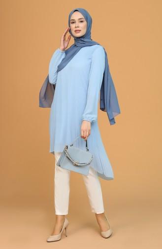 Tunique Bleu Bébé 4214-08