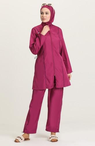 Zwetschge Hijab Badeanzug 212011-04