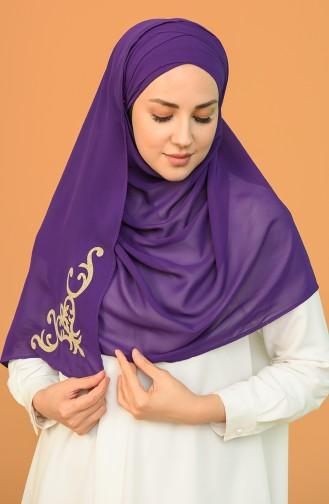 Purple Ready to Wear Turban 0004-20