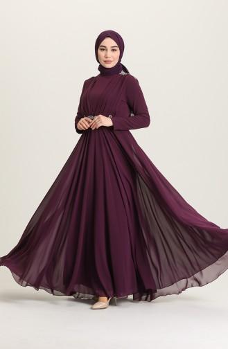 Habillé Hijab Plum 4212-04