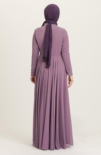 Habillé Hijab Lila 4212-05