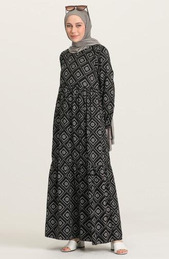 Robe Hijab Noir 21Y8362-02