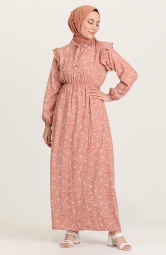 Robe Hijab Vison Foncé 21Y8364-10
