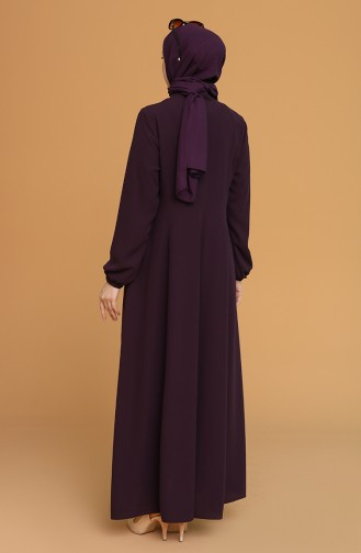 Purple Abaya 4306-03