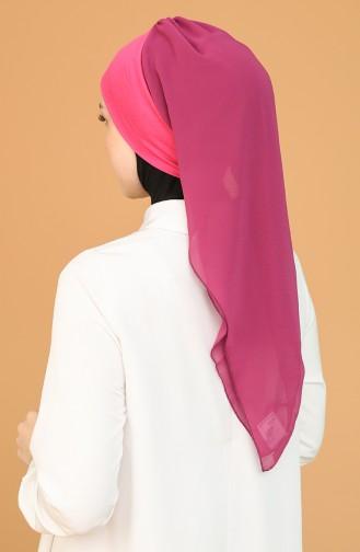 Fuchsia Ready to Wear Turban 0065-1-10