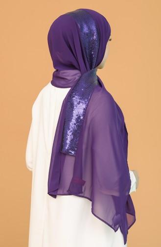 Purple Ready to Wear Turban 0014-20