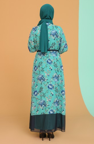 Robe Hijab Bleu Marine 21Y3137400-02