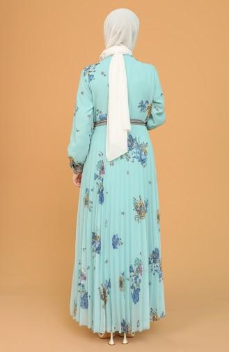 Robe Hijab Vert menthe 21Y3160200-03
