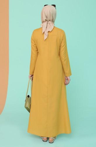 Robe Hijab Tabac 7070-08