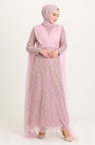 Lila Hijab-Abendkleider 202018-03