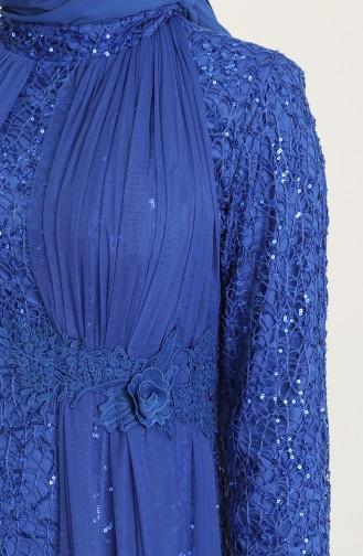 Habillé Hijab Blue roi 202021-01