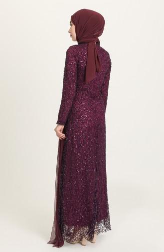 Zwetschge Hijab-Abendkleider 202021-03