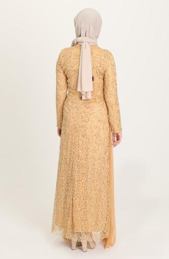 Senf Hijab-Abendkleider 202021-05