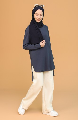 Navy Blue Tunics 1629-02