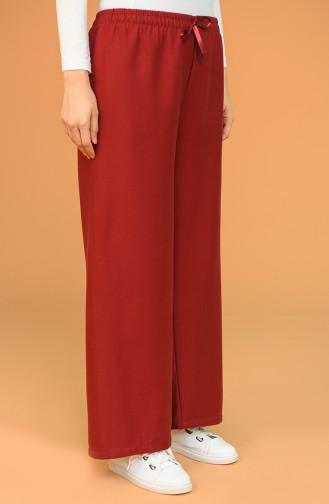 Claret Red Pants 4426-01