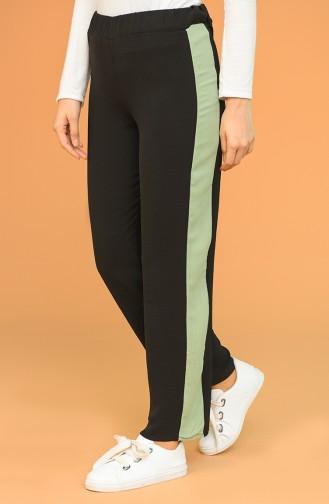 Pantalon Noir 0080-05
