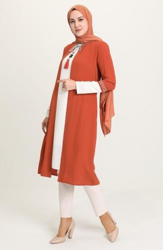 Brick Red Suit 1656-01