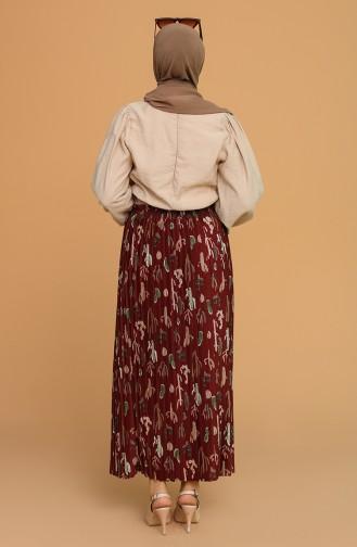 Claret Red Skirt 2002-01