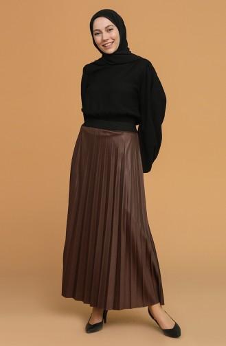 Brown Skirt 5636-05