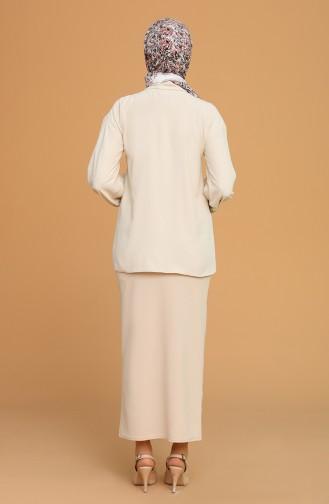 Beige Skirt 5639-05