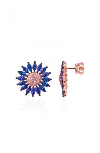 Blue Earring 0318MR-1