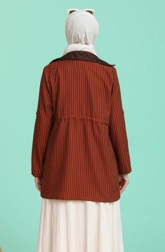 Tişört Ceket İkili Takım 9026-02 Taba
