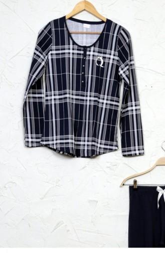 Pyjama Bleu Marine 50580509.LACIVERT