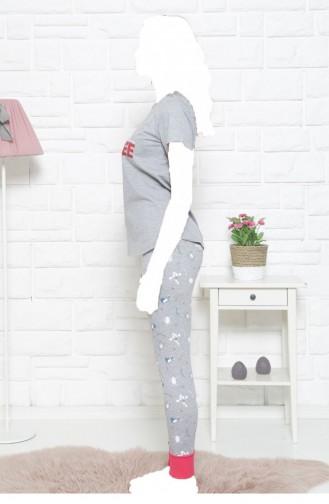 Pyjama Gris 11130041.GRIMELANJ