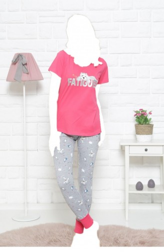 Pyjama Rose bonbons 11130041.SEKERPEMBE
