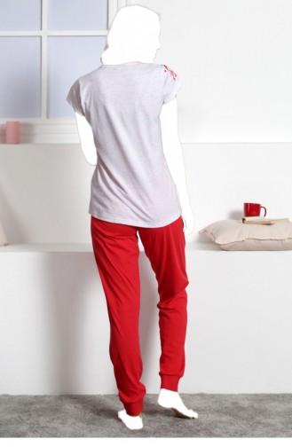 Vienetta Pamuk Pijama Takım 30920000 Grımelanj