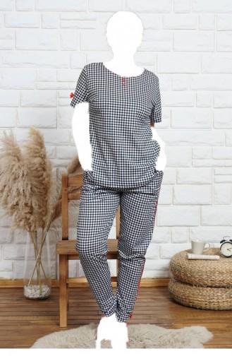 Black Pajamas 60070738.SIYAH
