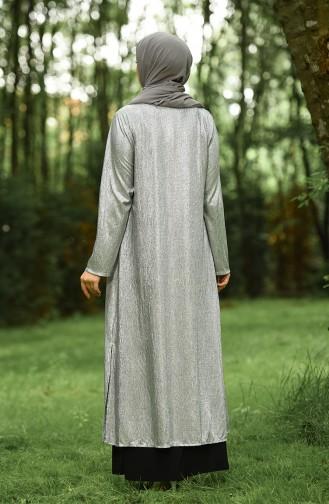 Habillé Hijab Noir 1070-03