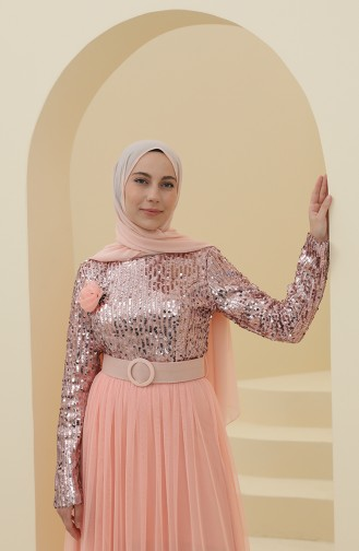Habillé Hijab Poudre 212123-05