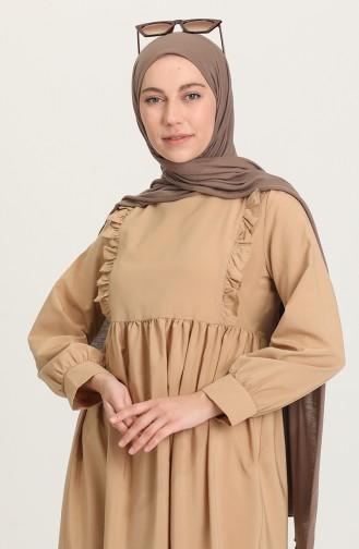 Maroon İslamitische Jurk 4509-02
