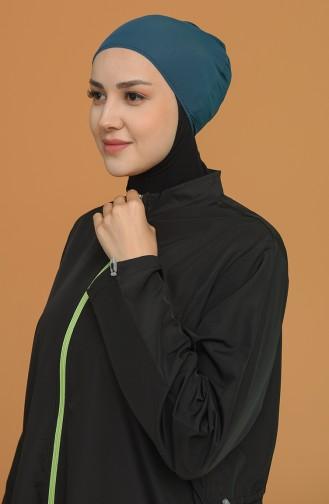 Bonnet Vert emeraude 0126-07