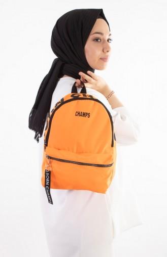 Orange Back Pack 27-15
