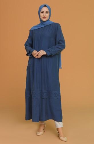 Indigo Abaya 0452-06