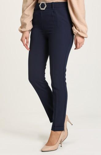 Pantalon Bleu Marine 1009-02